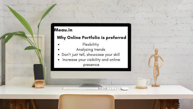 why-online-portfolio-is-prefered